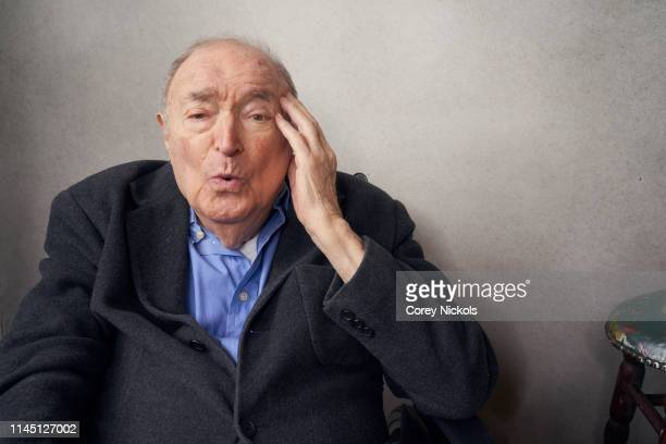Wynn Handman of the film 'It Takes A Lunatic' poses for a portrait during the 2019 Tribeca Film Festival at Spring Studio on April 25 2019 in New...