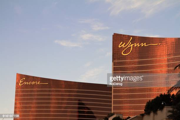 wynn hotel and casino luxury resort - wynn las vegas stock pictures, royalty-free photos & images