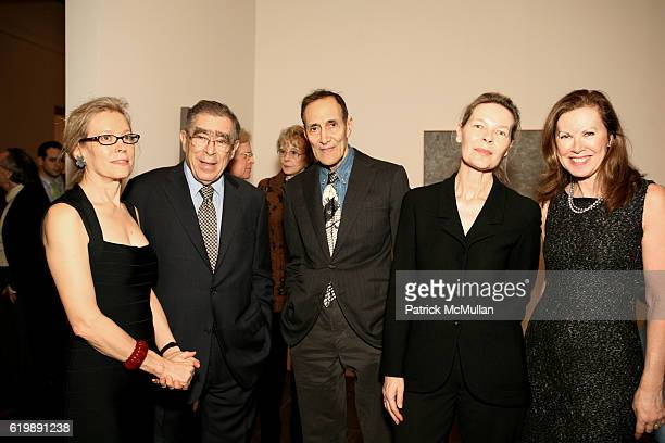 Wynn Kramarsky Willial Anestasi Dave Bradshaw Mona Arnold and Elga Wimmer attend Jasper Johns Gray @ Metropolitan Museum 0f Art at 1000 5th Ave on...