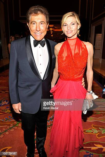 Wynn Resorts Chairman CEO Steve Wynn and Andrea Hissom attened the Andre Agassi Foundation for Education's 15th Grand Slam for Children benefit...