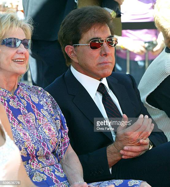 Wynn Resorts Chairman Steve Wynn and wife Elaine attend the groundbreaking ceremony for the Trump International Hotel Tower Las Vegas a 64story tower...