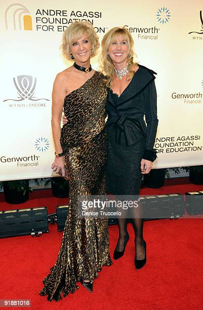 Wynn Resorts Director Elaine Wynn and daughter Kevyn Wynn arrive at the 14th annual Andre Agassi Foundation for Education's Grand Slam for Children...