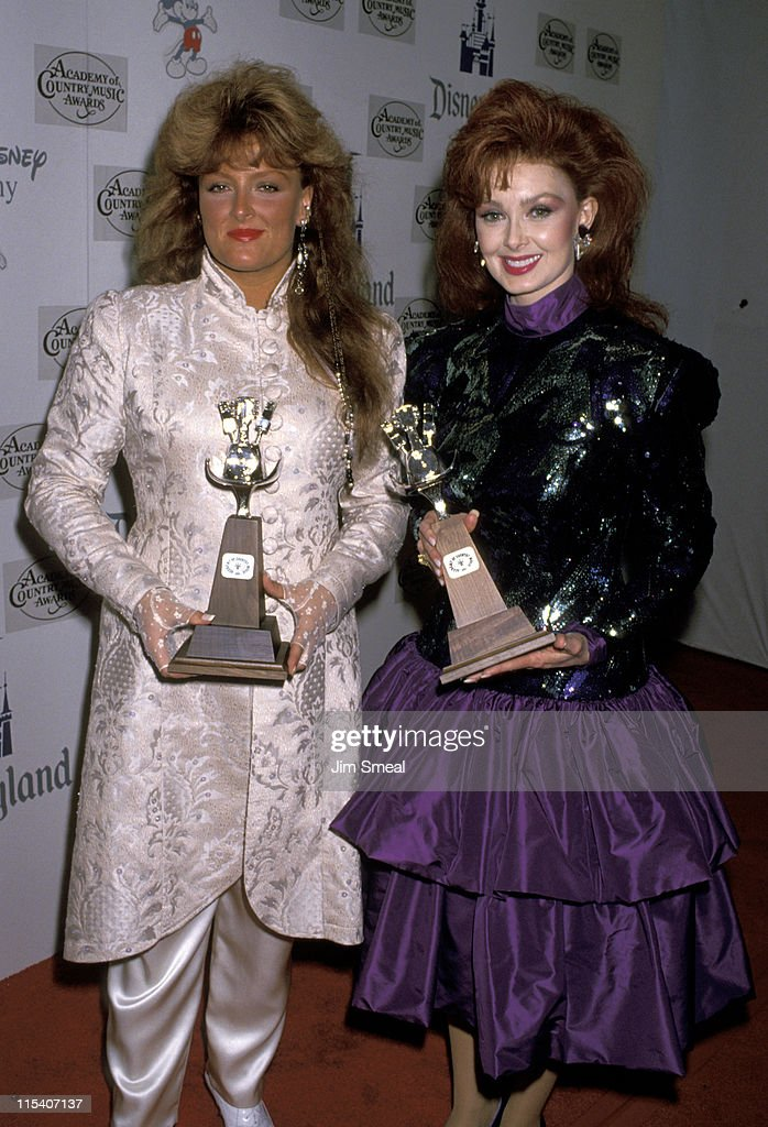 Wynonna Judd and Naomi Judd during 34th Annual Academy of Country Music Awards at Universal Ampitheater in Universal City, California, United States.