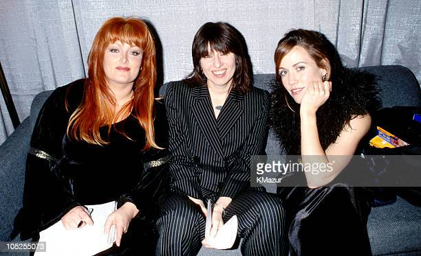 Wynonna Judd Chrissie Hynde and Sheryl Crow during TNT Presents Burt Bacharach 'One Amazing Night' at Hammerstein Ballroom in New York City New York...