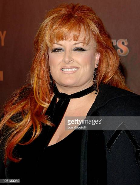 Wynonna Judd during CMT Giants Honoring Reba McEntire - Arrivals at Kodak Theatre in Hollywood, California, United States.