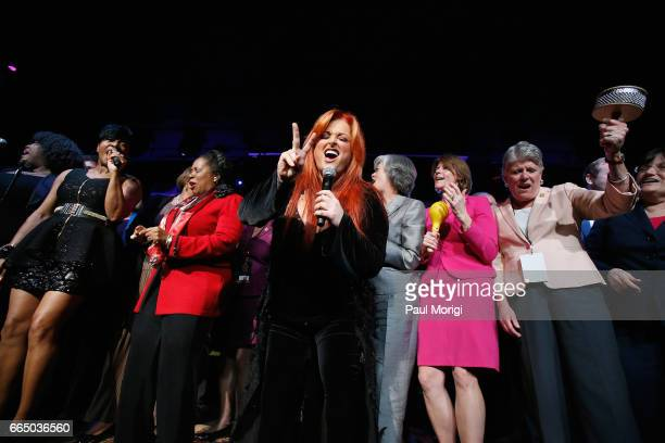 Wynonna peforms onstage with members of Congress at The Recording Academy®'s 2017 GRAMMYs on the Hill® Awards on April 5 to honor fourtime GRAMMY®...