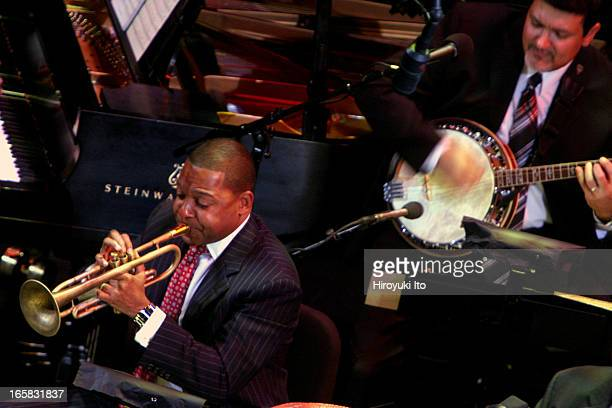 """Wynton Marsalis and Jazz at Lincoln Center presents """"Red Hot Holiday Stomp"""" at the Rose Theater on Thursday night, December 15, 2005.This..."""