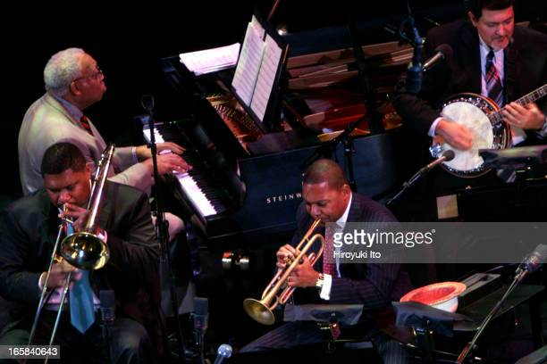 Wynton Marsalis and Jazz at Lincoln Center presents Red Hot Holiday Stomp at the Rose Theater on Thursday night December 15 2005This imageWynton...