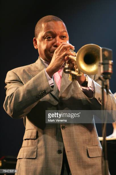 Wynton Marsalis in concert during the North Sea Jazz Festival at Ahoy' in Rotterdam, The Netherlands July 14, 2007.