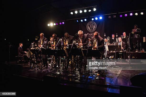 Wynton Marsalis Music Director trumpet player Ryan Kisor Marcus Printup Kenny Rampton Vincent R Gardner Elliot Mason Chris Crenshaw Sherman Irby Kurt...