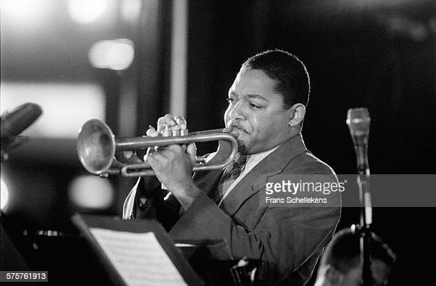 Wynton Marsalis, trumpet, performs on July 11th 1993 at the North Sea Jazz Festival in the Hague, Netherlands.