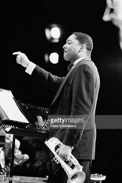 Wynton Marsalis, trumpet, performs on July 16th 1995 at the North Sea Jazz Festival in the Hague, Netherlands.