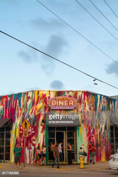 wynwood miami florida - county stock pictures, royalty-free photos & images