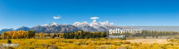 USA, Wyoming, Rocky Mountains, Teton Range, Grand Teton National Park, scenic