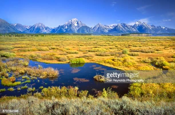 USA, Wyoming, Rocky Mountains, Teton Range, Grand Teton National Park, scenic