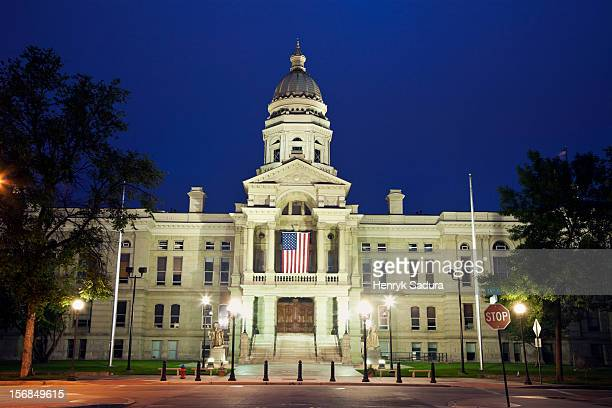 USA, Wyoming, State Capitol Building in Cheyenne