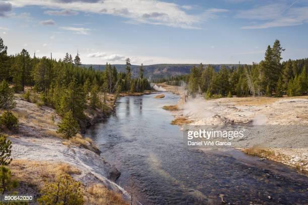 USA, Wyoming, Yellowstone National Park, Yellowstone River
