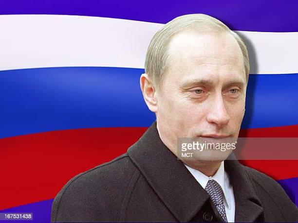 x 1535 in / 52x39 mm / 177x133 pixels Image of Russian President Vladimir Putin in front of Russian flag