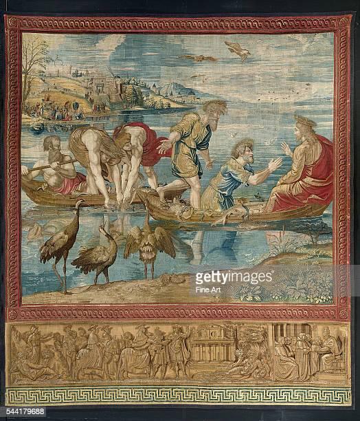 X 440 cm. Pontifical Museum, Vatican City.