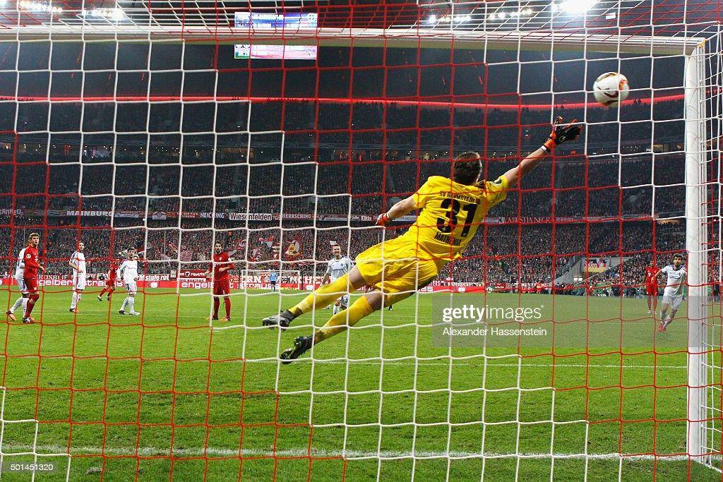 Bayern Muenchen v Darmstadt 98 - DFB Cup