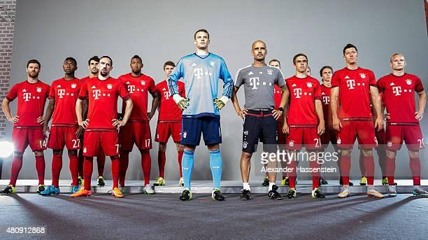 Xabi Alonso David Alaba Javier Martinez Franck Ribery Jerome Boateng Thomas Mueller Manuel Neuer Josep Guardiola Holger Badstuber Philipp Lahm...