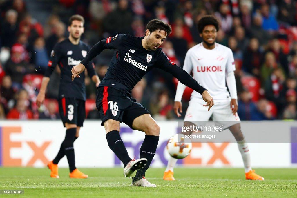 Athletic de Bilbao v Spartak Moscow - UEFA Europa League : News Photo