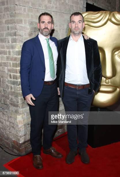 Xand Van Tulleken and Chris Van Tulleken attend the BAFTA Children's awards at The Roundhouse on November 26 2017 in London England