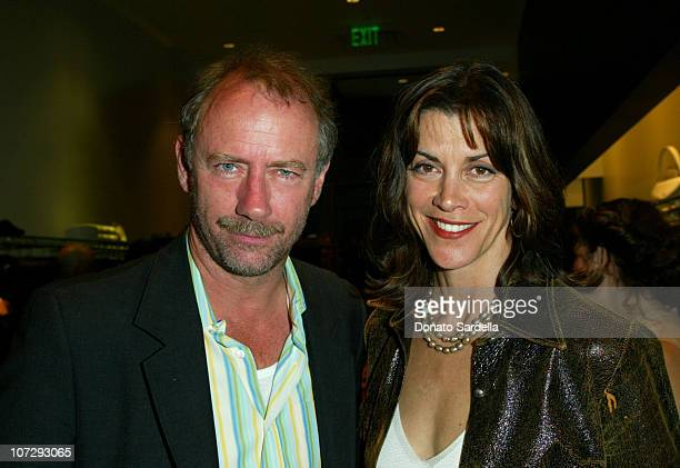 Xander Berkeley and Wendie Malick during Cerruti and David Cardona CoHost Private Party to Celebrate the Opening of Cerruti Beverly Hills Benefiting...