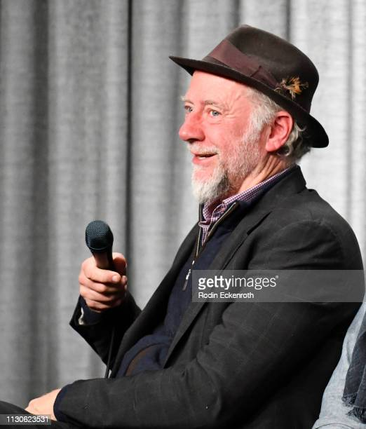 Xander Berkeley speaks at the SAGAFTRA Foundation Conversations with 'The Maestro' at SAGAFTRA Foundation Screening Room on February 18 2019 in Los...