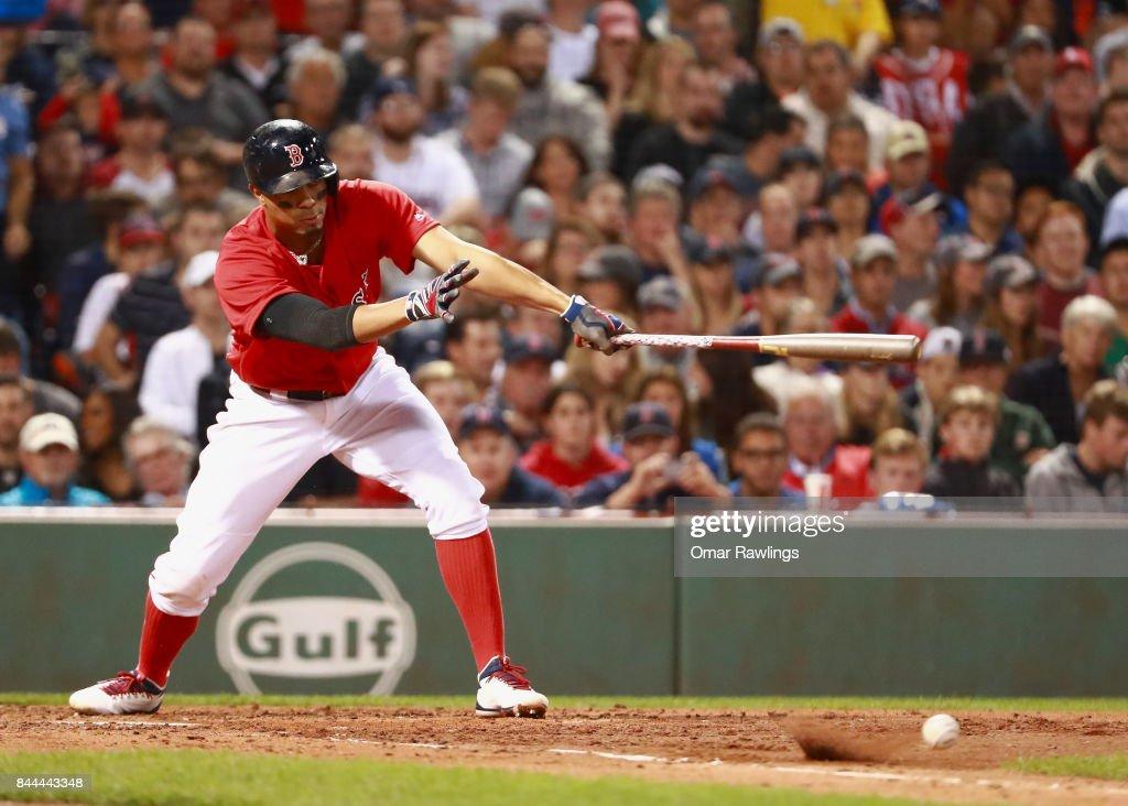 Tampa Bay Rays v Boston Red Sox : News Photo