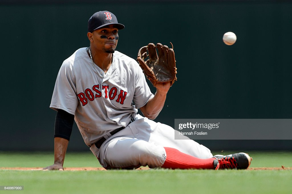 Boston Red Sox v Minnesota Twins : Foto jornalística