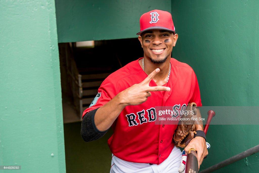 Northeastern University v Boston Red Sox : News Photo
