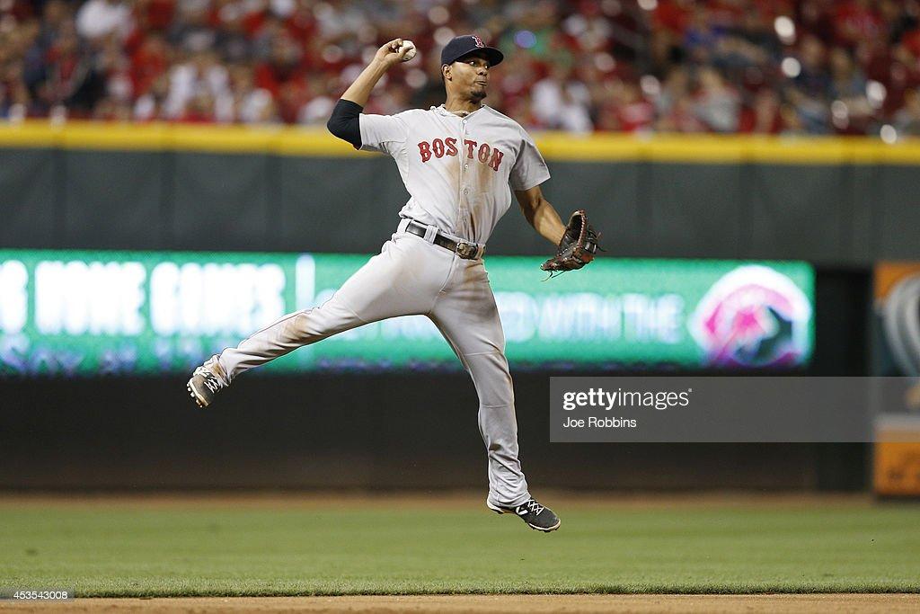 Boston Red Sox v Cincinnati Reds : News Photo