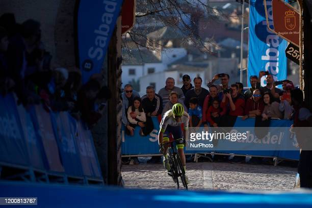 Xandro Meurisse of Belgium and Circus - Wanty Gobert winner of the 40th Vuelta a Murcia 2020, Stage 1 a 177,6 km stage from Los Alcázares to Caravaca...