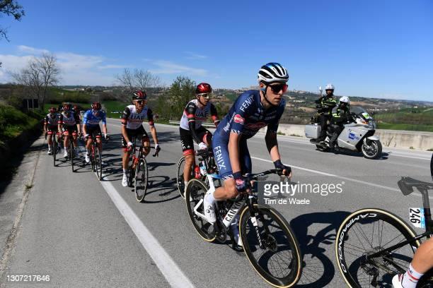 Xandro Meurisse of Belgium and Team Alpecin-Fenix, Davide Formolo of Italy and UAE Team Emirates, Rafal Majka of Poland and UAE Team Emirates & Tadej...