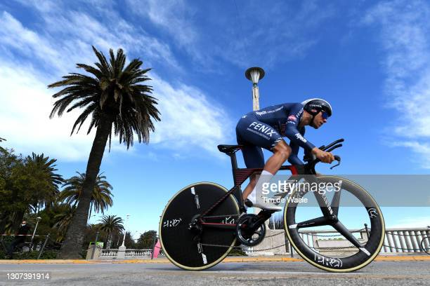 Xandro Meurisse of Belgium and Team Alpecin-Fenix during the 56th Tirreno-Adriatico 2021, Stage 7 a 10,1km Individual Time Trial stage from San...