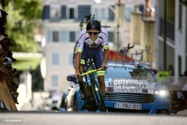 Xandro Meurisse of Belgium and Team Wanty-Gobert / during the 106th Tour de France 2019 - Stage 13 a 27,2km Individual Time Trial Stage from Pau to...