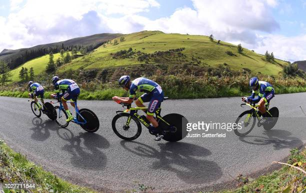 Xandro Meurisse of Belgium / Simone Antonini of Italy / Odd Christian Eiking of Norway / Mark McNally of Great Britain / Andrea Pasqualon of Italy /...