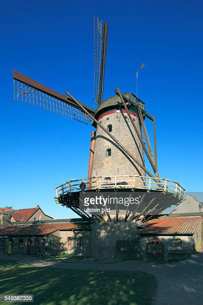 Xanten Rhin Lower Rhine North RhineWestphalia city fortification town wall Kriemhild mill windmill Middle Ages