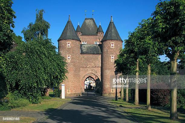 Xanten Rhine Lower Rhine North RhineWestphalia city fortification town wall Cleve Town Gate Klever gate
