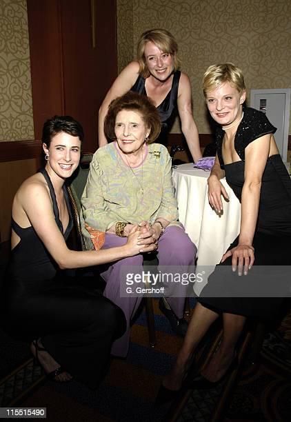 Xanthe Elbrick Patricia Neal Martha Plimpton and Jennifer Ehle