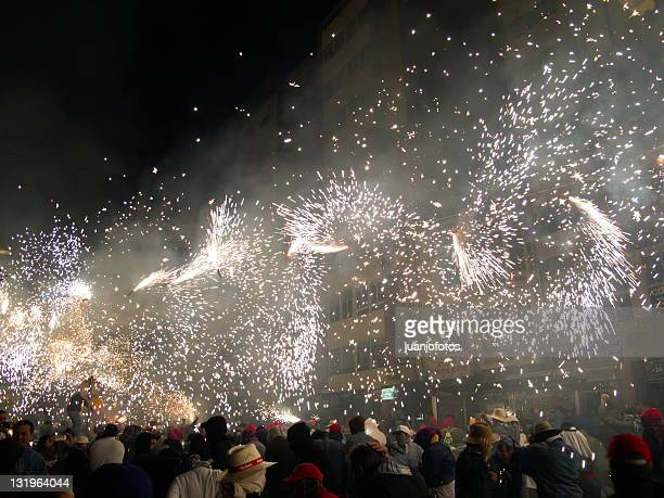 xarxa teatre. fiestas de la magdalena - castellon province stock pictures, royalty-free photos & images
