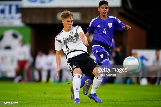 Cyprus U16 V Germany U16 International Friendly Pictures and Photos