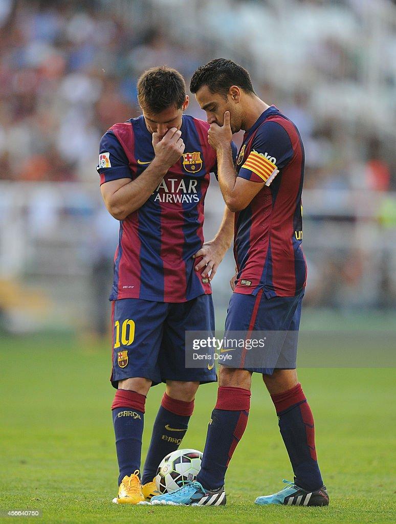 Rayo Vallecano de Madrid v FC Barcelona - La Liga : News Photo