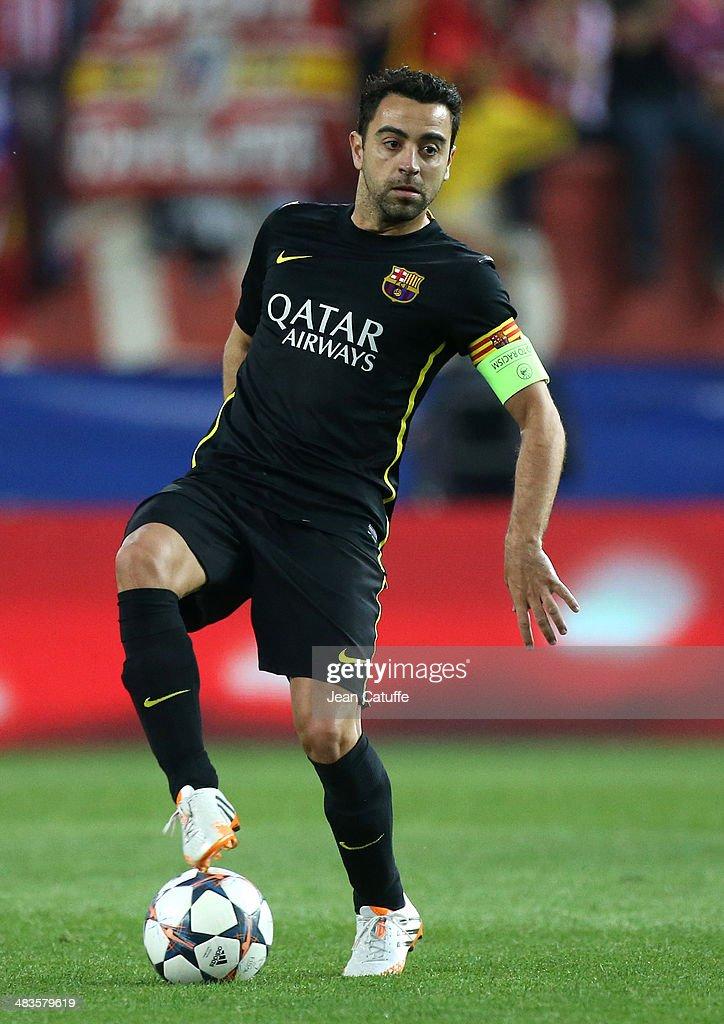 Club Atletico de Madrid v Barcelona - UEFA Champions League Quarter Final : News Photo