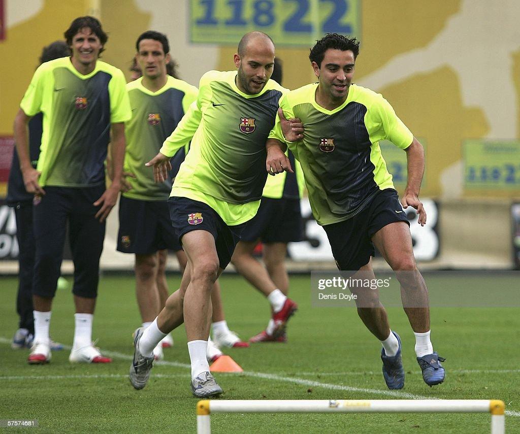 Barcelona UEFA Champions League Media Day : ニュース写真