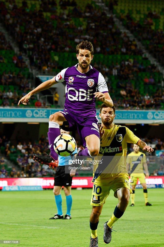 A-League Rd 22 - Perth v Central Coast
