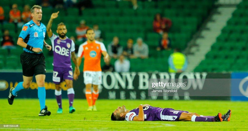 A-League Rd 27 - Perth v Brisbane : News Photo