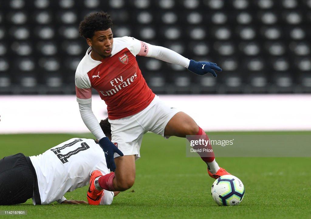 Derby County v Arsenal: U18 Premier League Playoff Final : News Photo