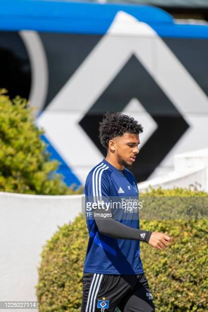 Xavier Amaechi of Hamburger SV during the training session of Hamburger SV on May 16 2020 in Herzogenaurach Germany